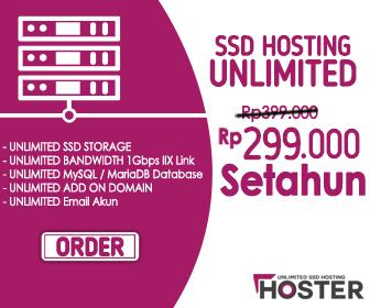 Web Hosting Unlimited Dengan Harga Murah